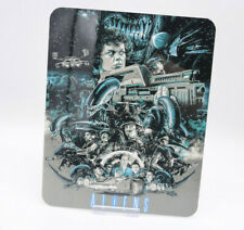 ALIENS - Glossy Bluray Steelbook Magnet Magnetic Cover (NOT LENTICULAR)