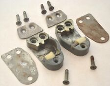 1959-1962 Ford Door Lock Latch Striker Catch Plates, 1961-1963 Thunderbird OEM