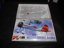 NICHIMO S-7202 1/72 MITSUBISHI A5M4 'CLAUDE' PLASTIC MODEL KIT