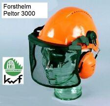 Forst Sicherheitshelm Forsthelm Peltor G3000 uvicator Gehörschutz H31 Visier V5