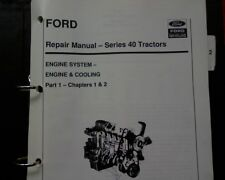 Ford 5640 6640 7740 7840 8240 8340 tractor ENGINE & FUEL SYSTEM Workshop manual