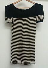 Next Black Top Size 10 Gold <J5083