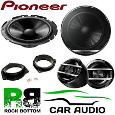 Pioneer For Toyota Camry 2002-2011 600W Component Kit Front Door Car Speakers
