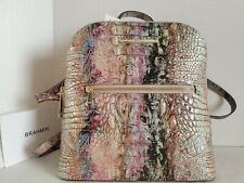 🌹Brahmin Felicity Backpack Opal Rainbow Croc Marbleized Leather Bag NWT***HTF