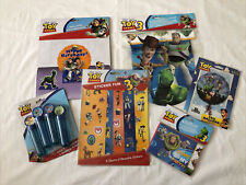 Job Lot - Toy Story Decorations Items Sale Banner Centrepiece Bubbles Stickers 1