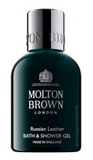 Molton Brown RUSSIAN LEATHER Bath & Shower Gel BODY WASH 50ml Travel Size