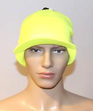 Nike Crew Radar Running Beanie Skull Cap Hat Volt Yellow 632246 702 NWT