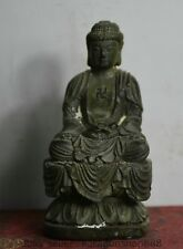 """Statue de Bouddhisme Bronze Bronze de 4 """"de Bouddha Shakyamuni Amitabha"""