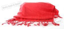 Chal elegantede color ROJO Pashmina suave étnica moda gitana para mujer