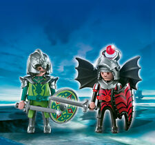 Playmobil-Duo Pack-drachenritterduell, nuevo, embalaje original, regalo, 4912