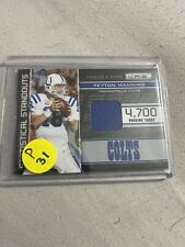 2011 Rookies And Stars Jersey Swatch Peyton Manning #2. /299