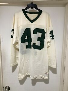 Vintage 70s Champion Authentic High School Football Jersey Sz Large Made In USA