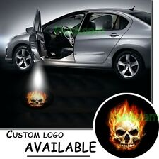 LED Light Car Welcome Door Laser Projector Logo Courtesy Shadow For GHOST RIDER