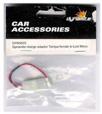 Team Dynamite DYN5003 Charge Adapter: Tamiya Female to Losi Micro