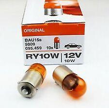 2x OSRAM 5009 RY10W 12V BAU15s halogen ORIGINAL auto car turn signal Germany