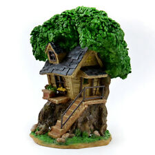 Miniature Dollhouse Fairy Garden - Solar Tree House - Accessories