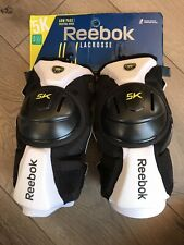 Reebok 5k Lacrosse Arm Pads Size Medium. New