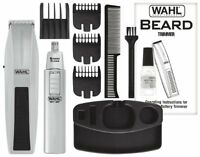 Hair Trimming Trimmer Set Mustache Beard Clipper Cordless Groomer Grooming 12 pc