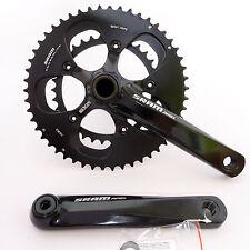 mr-ride 2014 SRAM Apex Crankset 50/34t 170mm W/O GXP BB road bike Black