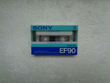 Vintage Audio Cassette SONY EF 90 * Rare From Japan 1986 *
