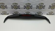 RENAULT CLIO MK4 5DR HATCH COMPLETE REAR SPOILER WITH BRAKE LIGHT IN BLACK