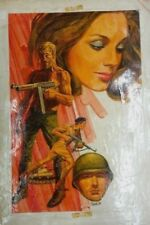 RICARDO VILLAGRAN COVER SIGNED TAVOLE ORIGINALE ART COMIC ARGENTINA 1970s