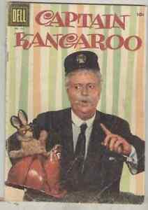 Four Color #721 G/VG 1956 Captain Kangaroo
