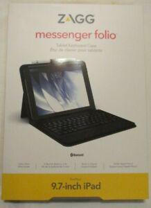 ZAGG Messenger Folio Tablet Keyboard Case iPad Air (9.7-inch) iPad Pro/iPad