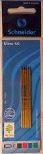 Schneider 77200 Mehrfarb-Kugelschreibermine Mine 56 Inhalt 5 Stück - OVP + NEU!