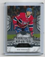 RYAN POEHLING 2019-20 UD EXQUISITE MONTREAL CANADIENS ROOKIE CARD 181/399