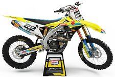 Graphics Kit to fit: Suzuki RM RMZ 85 125 250 450 models 1996-2020