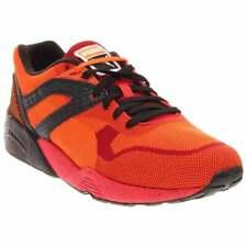 Puma R698 Knit Mesh Splatter  Casual Running  Shoes - Red - Mens