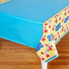 Peppa Pig Birthday Table Cover Measures 54 in x 96 in, 36 sq ft