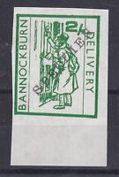 1971 STRIKE MAIL BANNOCKBURN DELIVERY 2/- GREEN STAMP MARGINAL SPECIMEN MNH