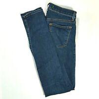 J. BRAND Womend Mid Rise SKINNY Jeans Medium/Dark Wash Size 24 REGULAR