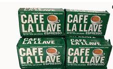 Cafe La llave Espresso 10 oz (1,2,3,4,6,10,12,14,20) packs( you choice)