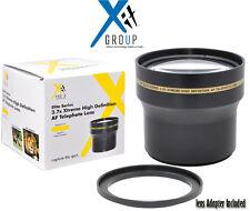 XIT 3.7X Telephoto Lens For Nikon SLR CAMERA 18-55mm D5100 D3200 D3100 D40 D40X