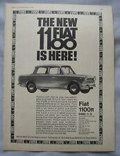 1966 Fiat 1100 Original advert
