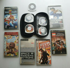 Lot Sony PSP 10 Games Pirates Caribbean Rainbow 6 Space Invaders and more