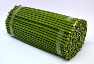50 St. 18,5 cm grün Kerzen Wachs свечи зеленые восковые церковные освященные