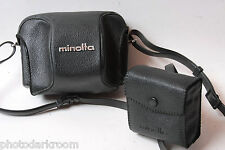 Minolta Eveready Camera Case - Fitted Approx. 3D x 5W x 3.5H - VINTAGE E24E