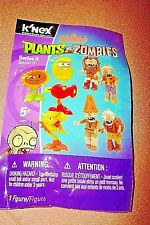 K'NEX Plants vs. Zombies series 3 *CODES *NO Dupes *SUNFLOWER - new & sealed!