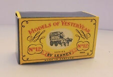 Repro Box Matchbox MOY Nr.12 Horse Bus