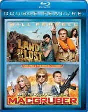 Land of The Lost / Macgruber Blu-ray 2009 Will Ferrell 2 Disc Unrated