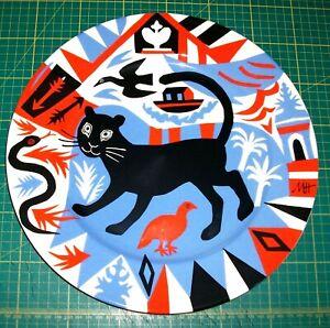 MARK HEARLD - FOLK ART CREAM BONE CHINA PLATTER - 2014