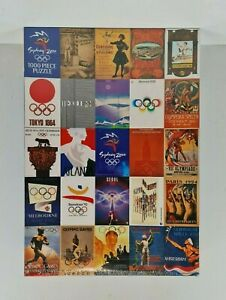 New - Mattel Sydney Olympic Games Historical Poster Jigsaw Puzzle 1000 Pieces