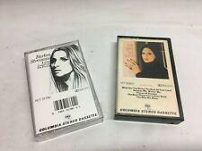 2 Barbra Streisand Cassette Tape Music by Colombia Stereo Cassette