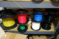 100 Ft 18 Awg Solid Core Mil Spec Silver Plated 600v Teflon Wire 4 X 25 Ft