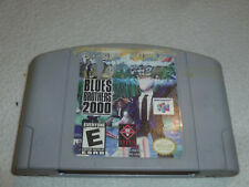 NINTENDO N64 VIDEO GAME BLUES BROTHERS 2000 CARTRIDGE ONLY CART TITUS