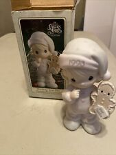 Precious Moments-Wishing You The Sweetest Christmas-Limited Edition 1993 Nib